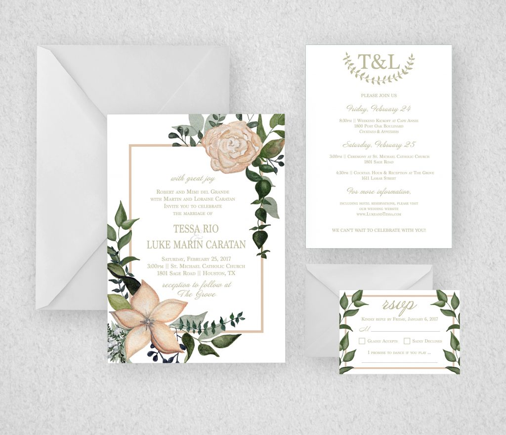 Invitation Mock Up